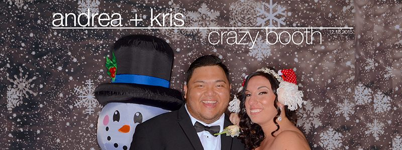 Andrea + Kris : Crazy Booth :: Photo Booth